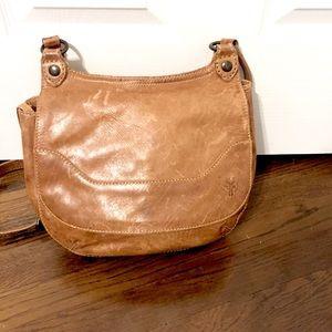 Frye— light brown leather bag